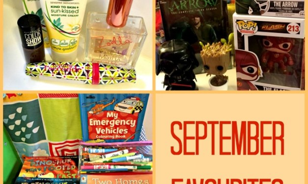 September Favourites