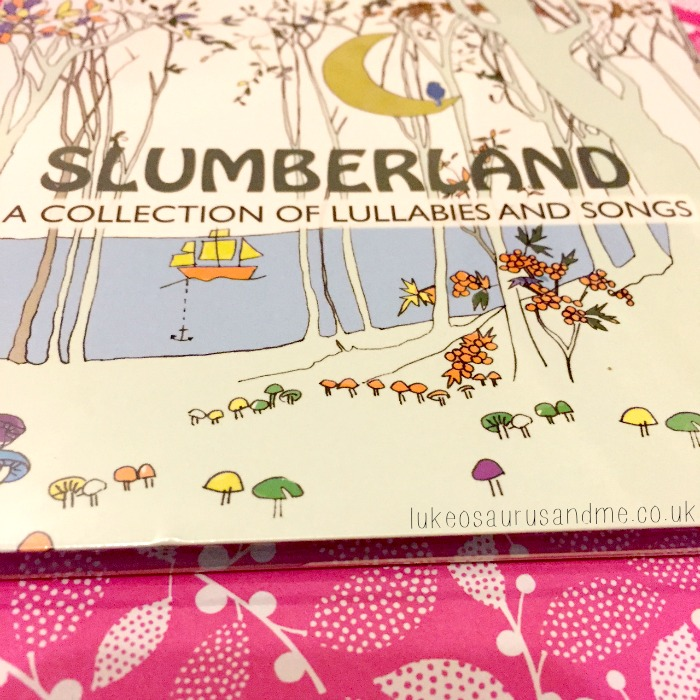 Slumberland CD by Humprey Berny Cover Art and review by lukeosaurusandme.co.uk