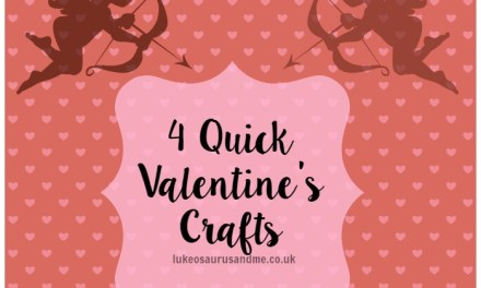 4 Quick Valentine's Crafts
