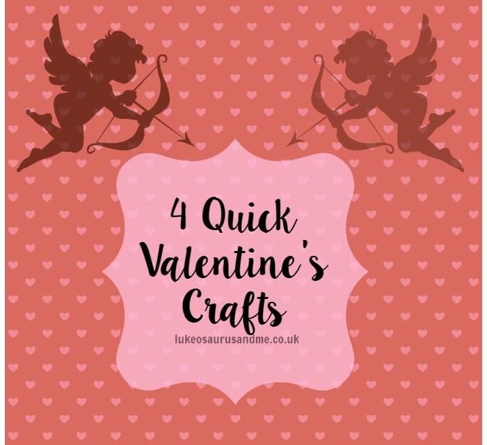 4 Quick Valentine's Crafts