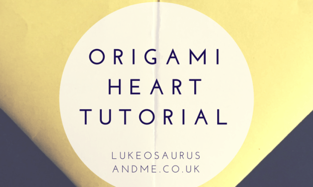 How To: Origami Hearts Tutorial