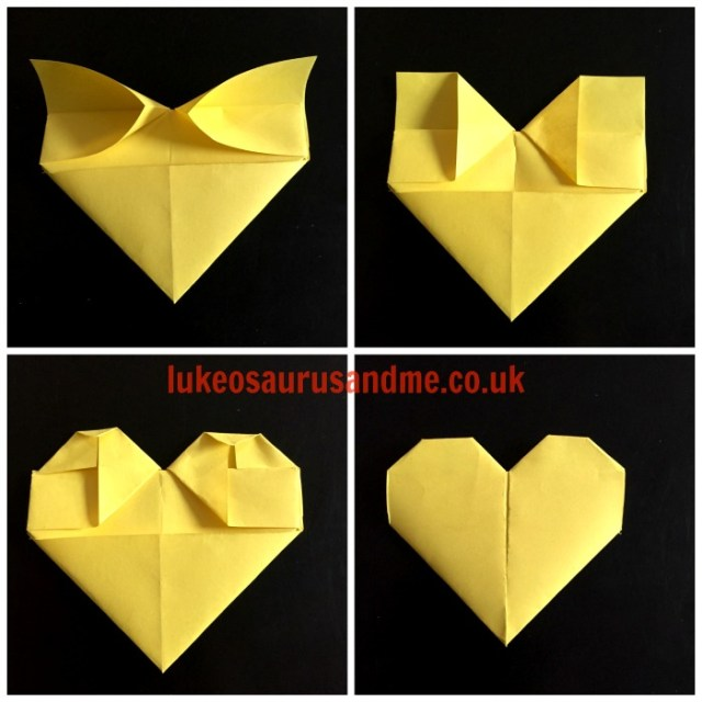 Origami Hearts Tutorial https://lukeosaurusandme.co.uk @gloryiscalling