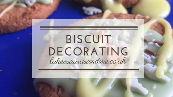 Biscuit Decorating
