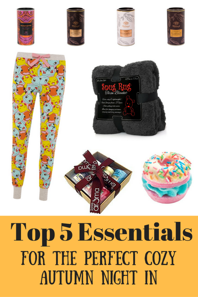 Top 5 Essentials For The Perfect Cozy Autumn Night In at https://lukeosaurusandme.co.uk