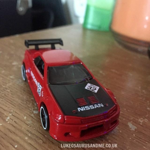 Hot Wheels Gran Turismo Nissan Skyline GT-R R32 at https://lukeosaurusandme.co.uk