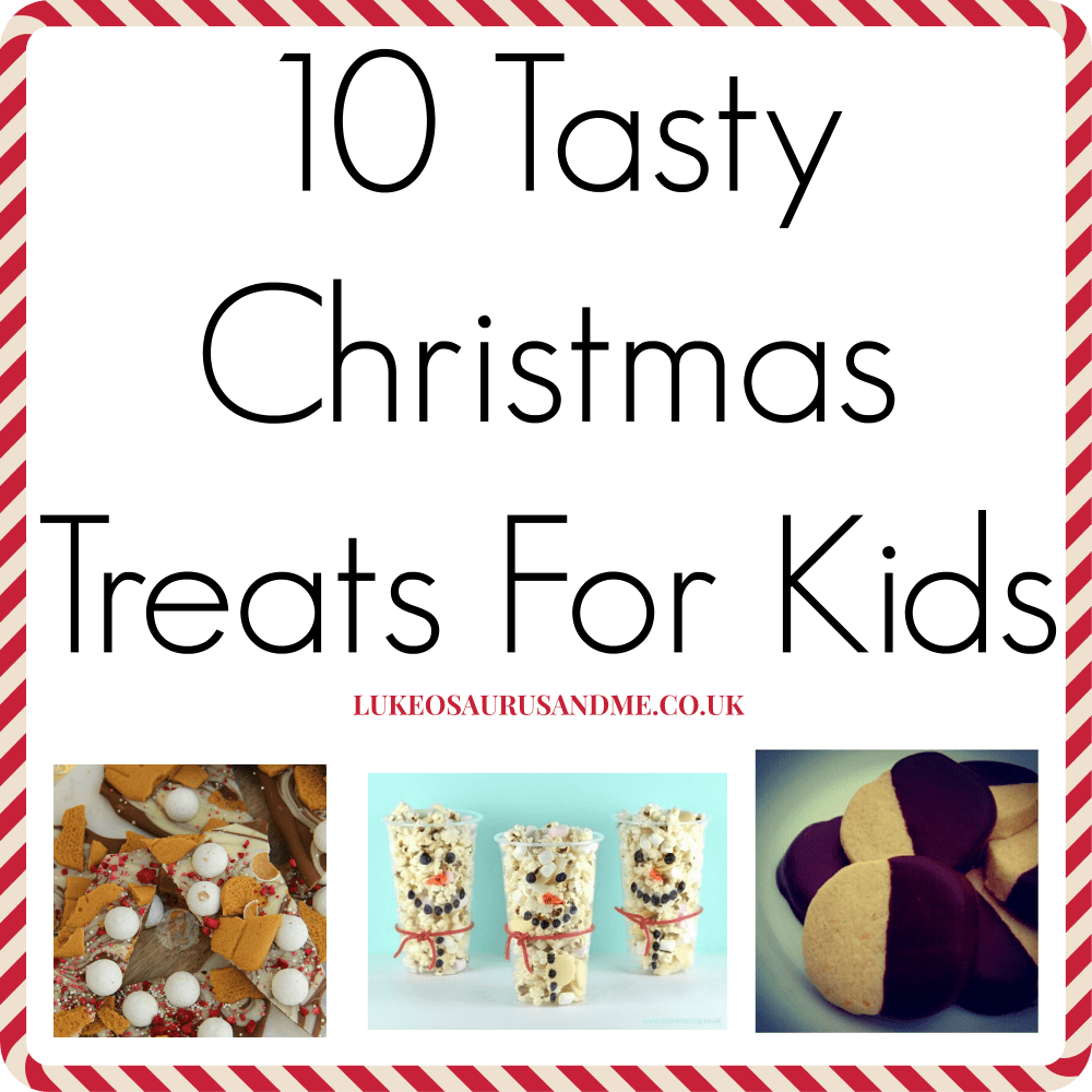 Christmas food for kids to help make at http://lukeosaurusandme.co.uk