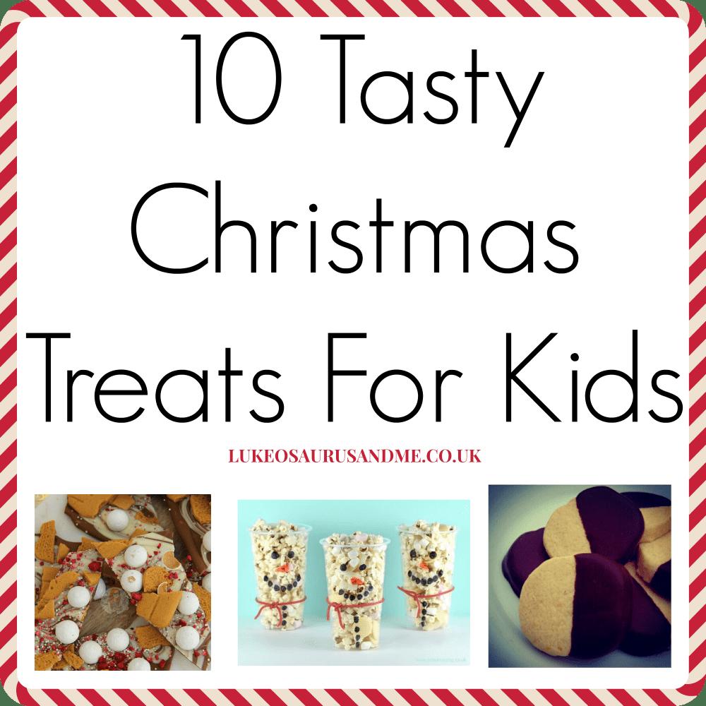 Christmas food for kids to help make at https://lukeosaurusandme.co.uk