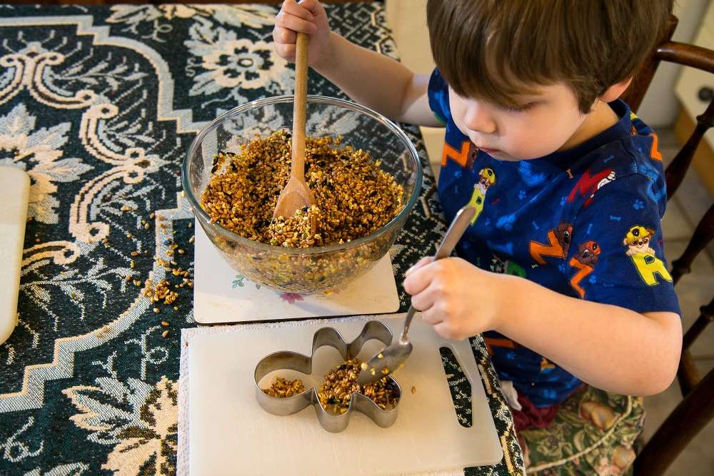 Bird Feeders for kids to make at https://lukeosaurusandme.co.uk