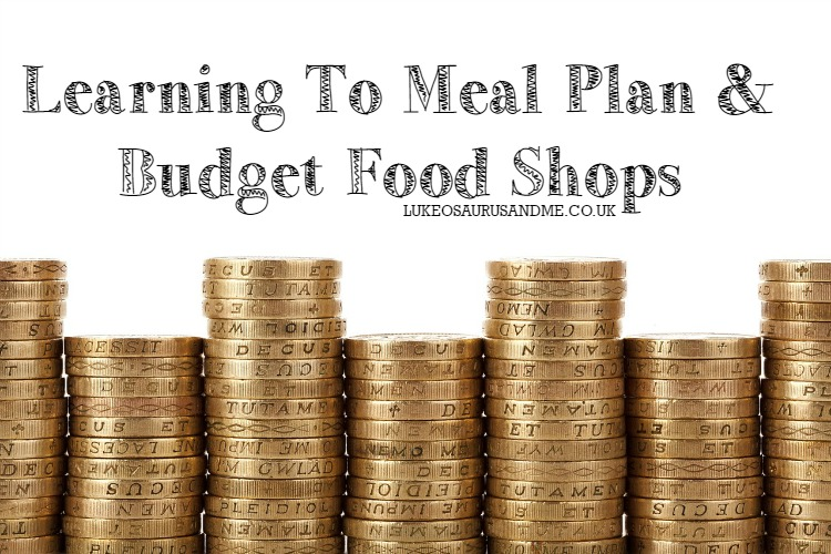 Learn To Meal Plan and Budget Food Shops in the UK