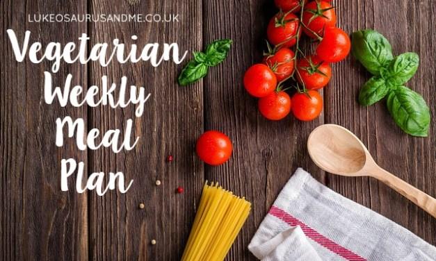 Money: Weekly Vegetarian Meal Plan #2