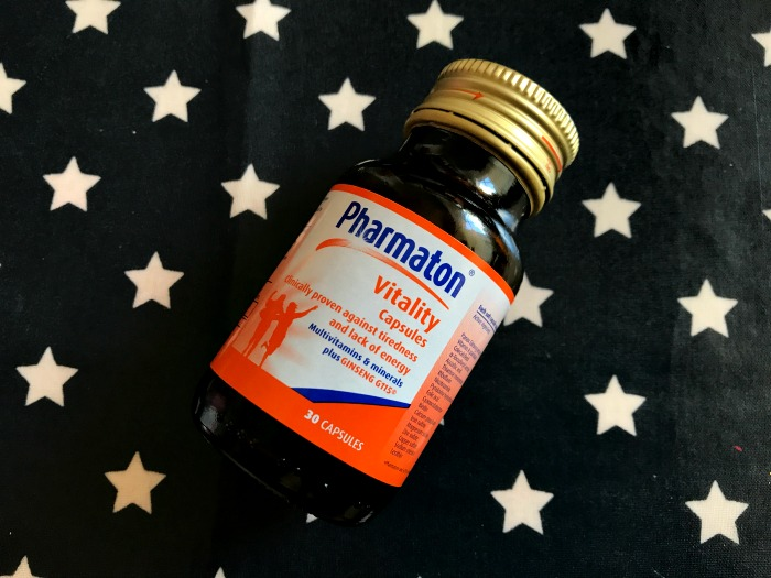 Pharmaton Vitality Capsules Review, for fatigue and tiredness at https://lukeosaurusandme.co.uk