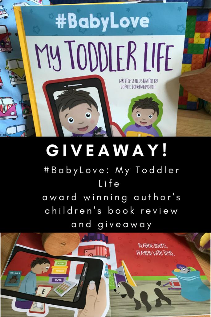 Children's book #BabyLove: My Toddler Love by Corine Dehghanpisheh giveaway at http://lukeosaurusandme.co.uk