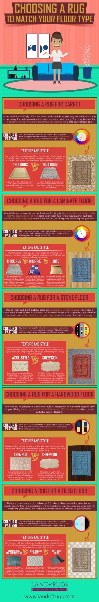Tips for Matching a Rug with Flooring at https://lukeosaurusandme.co.uk