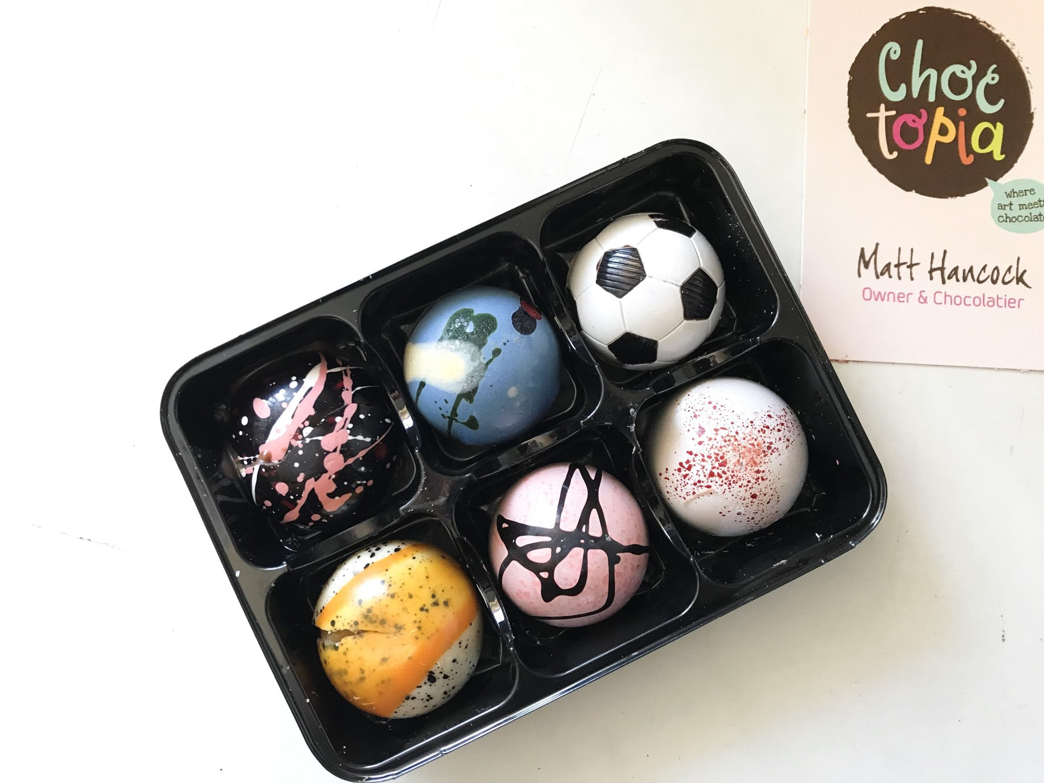 Choctopia create amazing, unique, hand crafted chocolates that are perfect for Father's Day and special occasions. Read more here https://lukeosaurusandme.co.uk