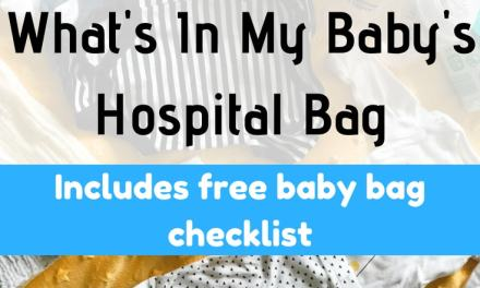 What's In My Baby's Hospital Bag