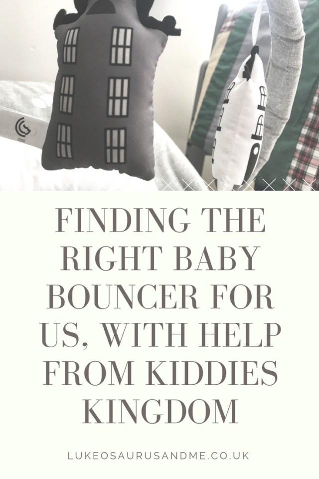 Kiddies Kingdom Baby Bouncer Range Joie Wish Petite City https://lukeosaurusandme.co.uk