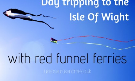 Day Tripping To The Isle Of Wight with Red Funnel Ferries