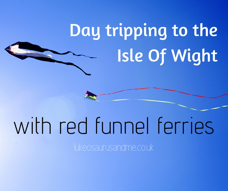 Day Tripping To The Isle Of Wight with Red Funnel Ferries - full review at https://lukeosaurusandme.co.uk