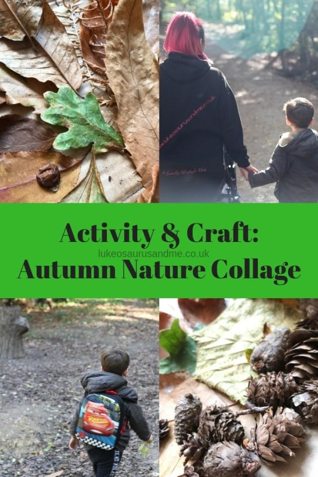 Autumn Nature Collage at https://lukeosaurusandme.co.uk