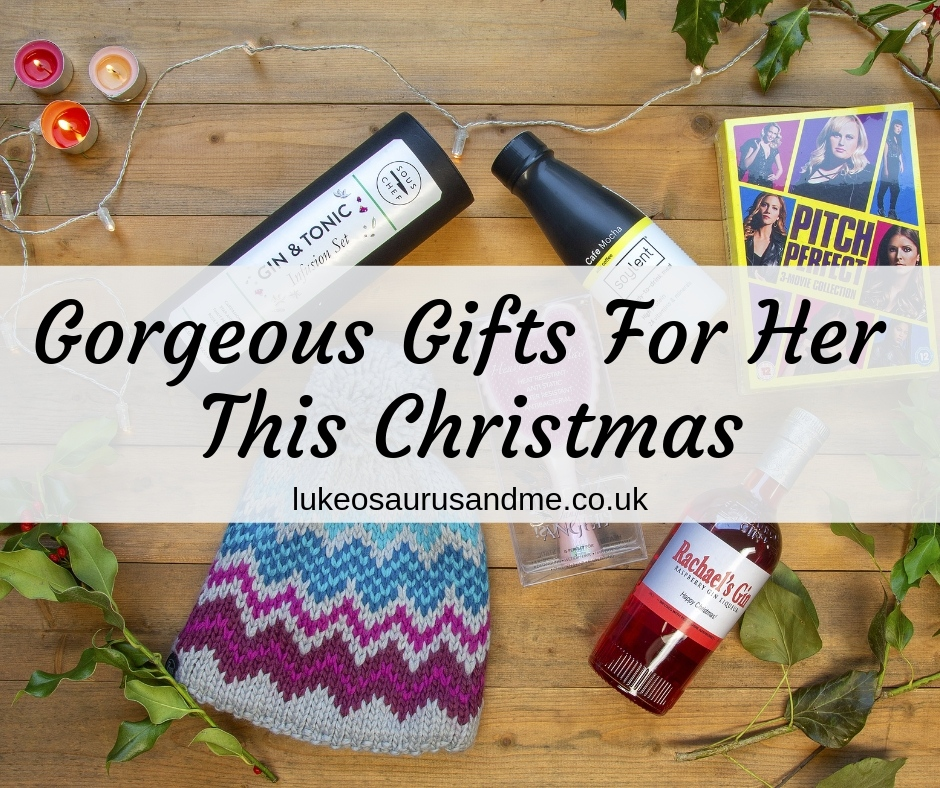 Gorgeous Gifts For Her This Christmas 2018 at https://lukeosaurusandme.co.uk