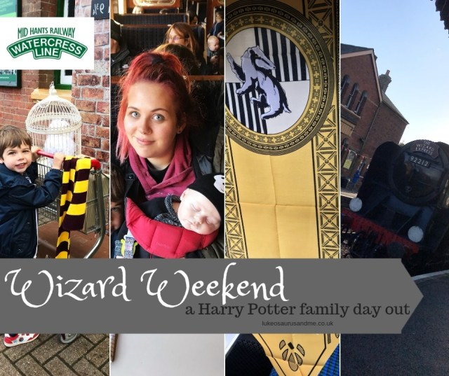 Wizard Weekend - a Harry Potter family day out review at https://lukeosaurusandme.co.uk
