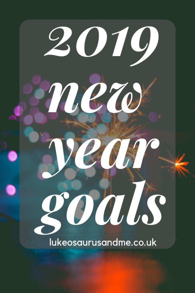 2019 New Year Goals at https://lukeosaurusandme.co.uk