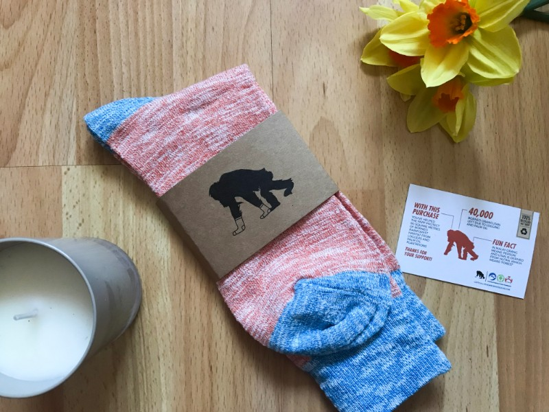 Critically Endangered Socks sell socks which help endangered animals lives. Read more at https://lukeosaurusandme.co.uk
