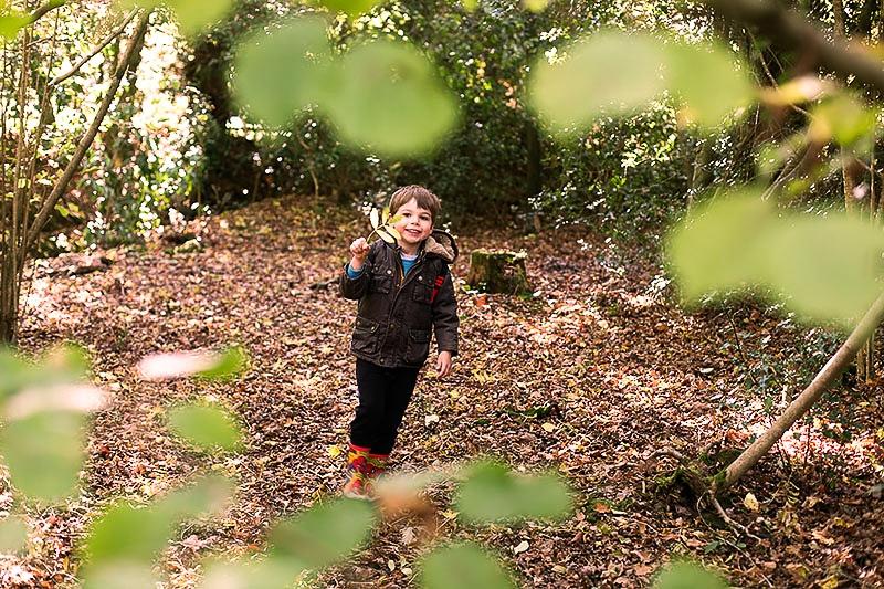 Exploring the woods at https://lukeosaurusandme.co.uk