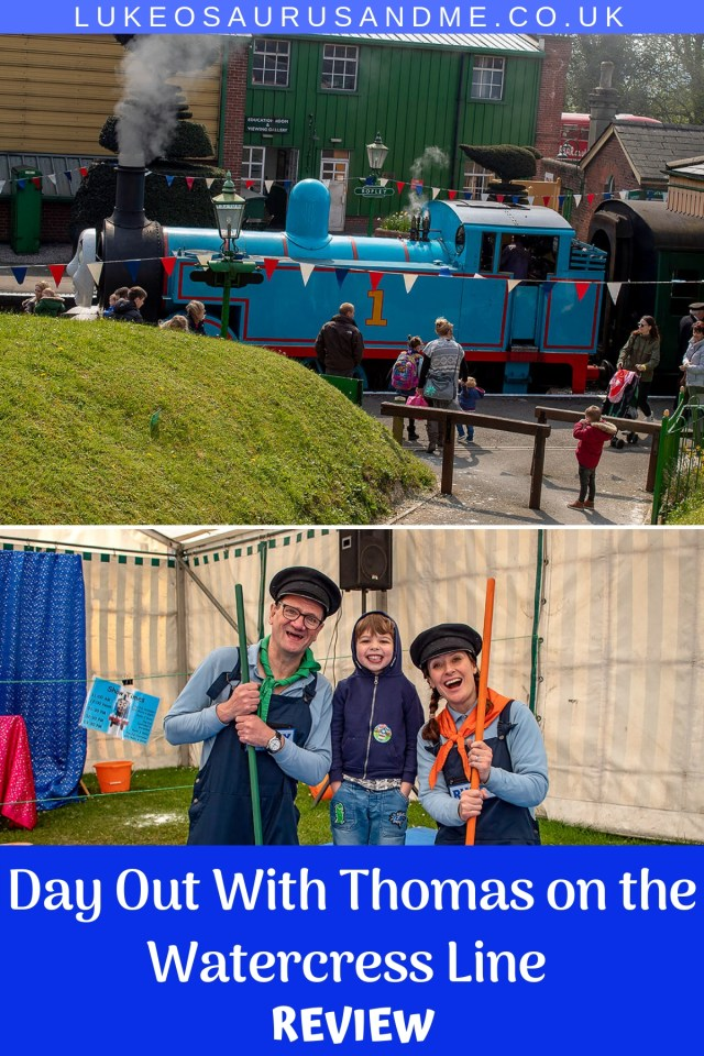 Family event - Day Out With Thomas on the Watercress Line (Mid Hants Railway) review at https://lukeosaurusandme.co.uk