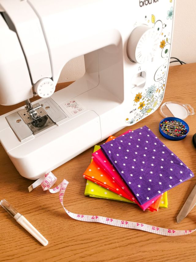 I Bought A Brother HC14 Sewing Machine! Read more at https://lukeosaurusandme.co.uk