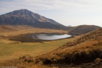 Mount Aso Slopes and Lake