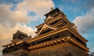 Kumamoto Castle, Late Afternoon