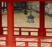 Lanterns of the Itsukushima Shrine, Miyajima