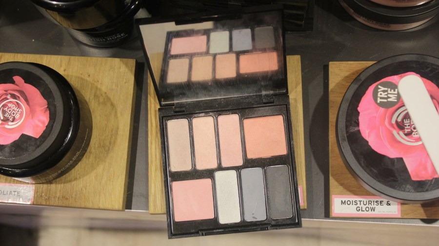 the Body Shop British Rose Pallet