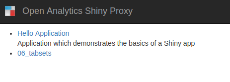 How to Use Shiny Containers with Shinyproxy