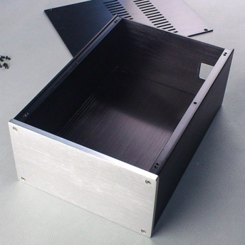 Enclosure for directional metal halide light fixture