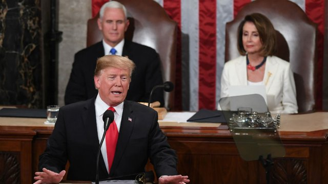Trumps State of the Union was a comedy