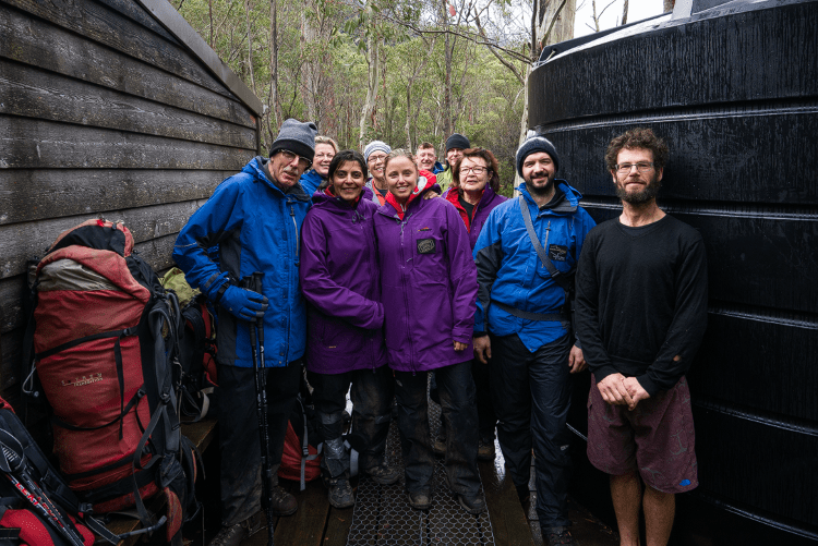 The Tasmanian Walking Company group I completed the Overland Track with in May 2016