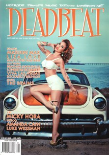 "Cover credit ""Deadbeat"" 2013"