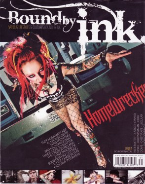 "Cover Credit ""Bound by ink' 2011"