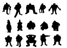 Gravity Falls Character Thumbs