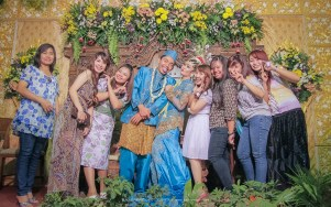 Foto pengantin adat jawa moderen