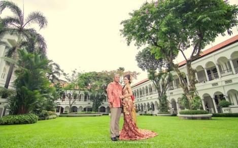 foto prewedding hotel mojopahit surabaya