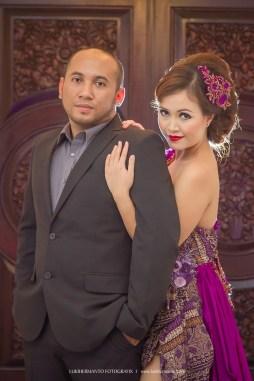 foto prewedding elegant romantis
