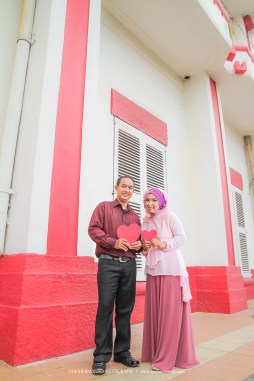Prewedding Muslim love