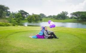 Prewedding Muslim taman