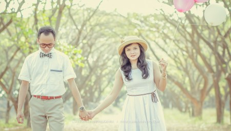 prewedding balon