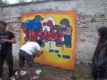 Gambar lukisan mural, grafiti atau lukisan dinding 040