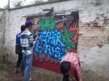Gambar lukisan mural, grafiti atau lukisan dinding 041
