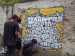 Gambar lukisan mural, grafiti atau lukisan dinding 043